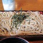 弥五郎 - ざる蕎麦は新蕎麦でした、美味しかったぁ・・・