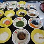 水産食堂 - 小鉢