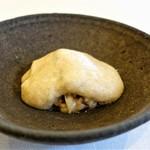 ヴィラ・アイーダ - 米 ラディッキオ 菊芋のメレンゲ 黒トリュフ
