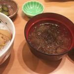 62093429 - 味噌汁♪