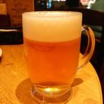 ピッツァ サルヴァトーレ クオモ 四谷 - やはり生ビール(^_^)b