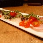 ピッツァ サルヴァトーレ クオモ 四谷 - 真鯛のスパゲッティ 真鯛の鮮度が良いですね✴