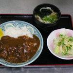 賀茂川 - 進化系カレーセット830円