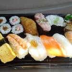 ちよだ鮨 - 料理写真:らんち・おおしお(税込498円)