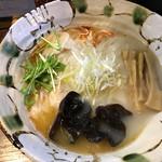 いち井 - 塩+えびわんたん ¥1050