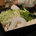 快食ダイニング匠彩 - 豚しゃぶの野菜