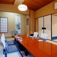 【個室(座敷)】和の空間で、季節に合った会席料理を堪能