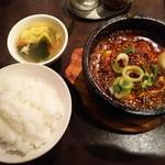 62101832 - 頂天石焼麻婆豆腐定食(激辛)