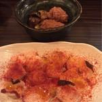 62101984 - 蛸ガリシア風と和風煮物?