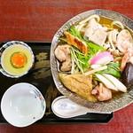 お食事処 こざく羅 - 鍋焼きうどん 1,000円