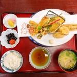 お食事処 こざく羅 - 天婦羅定食 1,500円