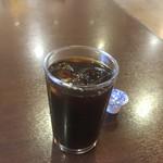 山ちゃん亭 - 食後のアイスコーヒー