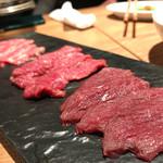 馬肉バル プニー - 馬肉三種盛り