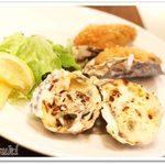 62103205 - 牡蠣のグラタン / カキフライ