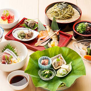 【料理長推薦】会席料理を堪能できる珠玉のコース