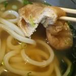 讃岐麺処 か川 - お揚げさん