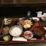 ヤマノキ - ラムジンギスカン定食1,200円