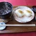 カフェ・ドルフィン - 料理写真:冬限定ぜんざい