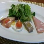 ロスカルピーノ - 料理写真:前菜