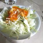 レストラン香港 - サラダ