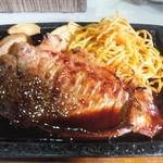 レストラン香港 - サーロインステーキ