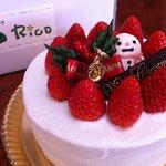 焼き菓子 Rico - 2010年12月26日、8:49:47撮影 スポンジのしっとり感は完璧私好み!