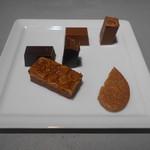 ビーバイビー ギンザ - キャンペーンのチョコレート