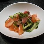 ふくべ - トマトサラダ