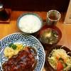源氏 - 料理写真:源氏焼のヒレ(ソース)