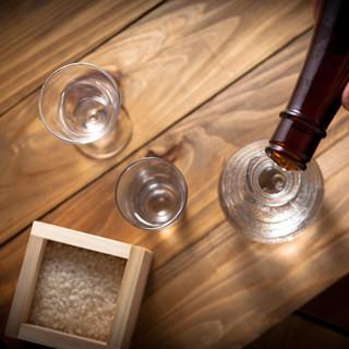 ■当店選りすぐりの日本酒と店長厳選の焼酎