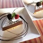 ソニックカフェ - バレンタイン限定!(2/14まで) チョコレートケーキ ¥400