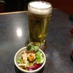 62117992 - 生ビールアサヒスーパードライ(450円)