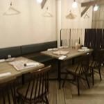ふうり - テーブル席