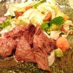 彩箸 - 宮崎牛の炙りステーキ