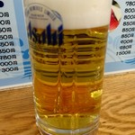 市場食堂 - 生ビール
