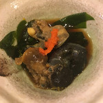 寿司辰 - サザエの肝ポン酢