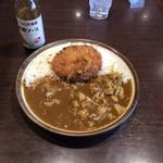 CoCo壱番屋 - ししコロッケカレー+豚しゃぶ
