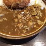 CoCo壱番屋 - ししコロッケカレー+豚しゃぶ:アップ