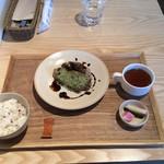 レストラン LIFE - 美味鶏の香草パン粉焼きバルサミコソース