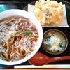 Minatoan - 料理写真:海鮮かき揚げ天そば 580円