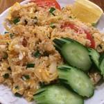 62125090 - アムリタ食堂(カオパッ・ガイ/鶏とトマトとバンセーン焼き飯)