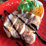Rozetta - 本日のお肉ソテー イベリコ豚バルサミコソース
