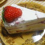 マリアサンク - いちごのショートケーキ 525円
