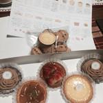 タルトとキッシュのお店 ショウエイドウ - 料理写真:タルト各種 + チョコチップクッキー メニュー表
