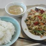 波止場食堂 - 中華ランチ500円
