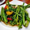 サバイ ジャイ タイランド - 料理写真:空芯菜炒め