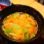 神楽坂 料理 やま本 - お味噌汁