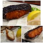 味の正福 - ◆銀鱈みりんは厚みもあり美味しい。「鬼おろし」がタップリ添えられているのもいいですね