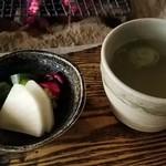 はやし - 漬け物とお茶