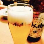 62134754 - 冷たいビールでぷはぁ♪